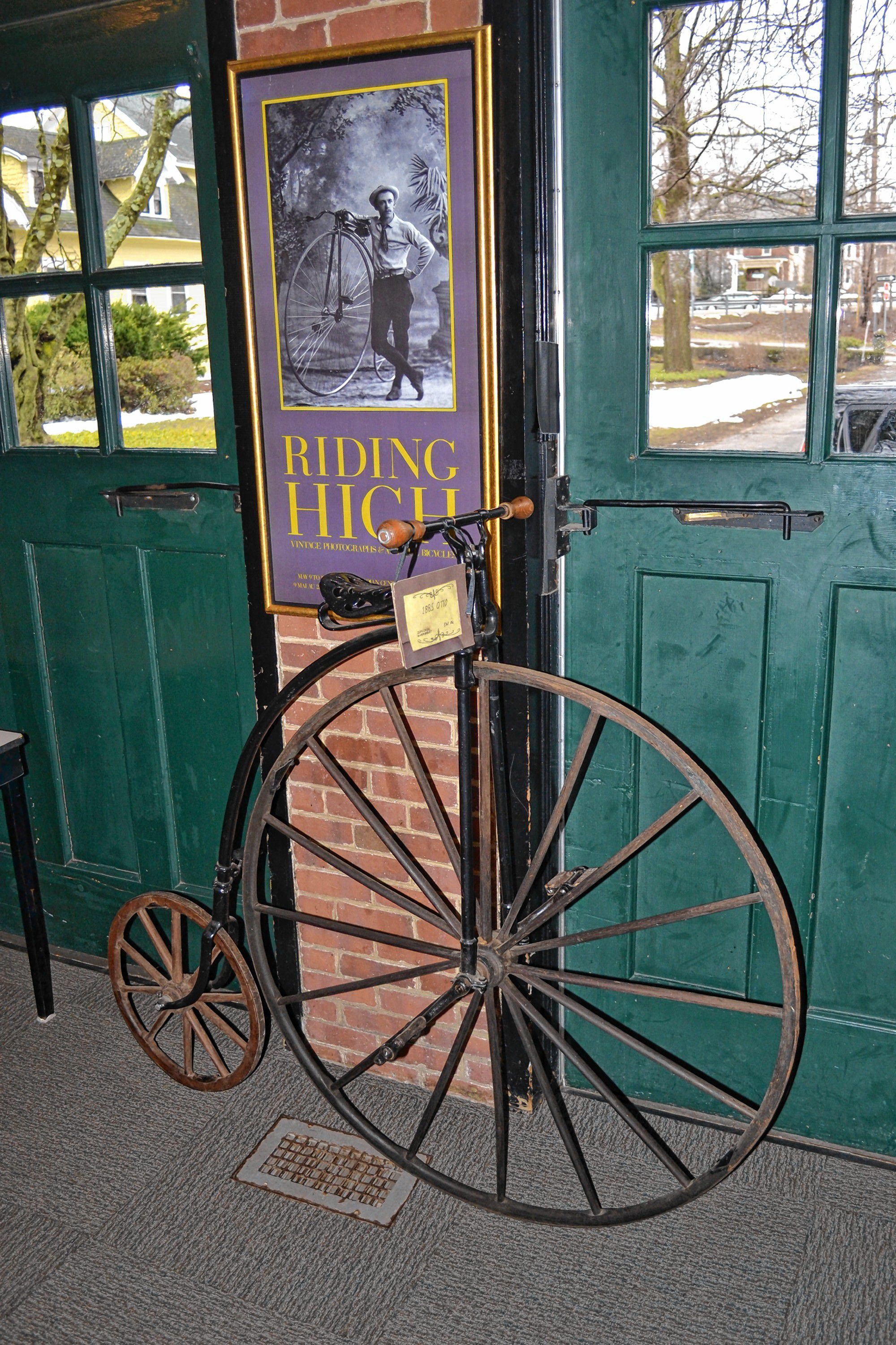 Kimball-Jenkins Estate is hosting an antique bicycle and bicycle