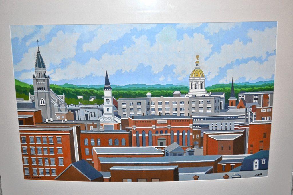 Rooftops II, Michael Lemire.