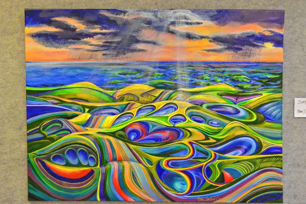 Surface, Robin Sanford Lamson.