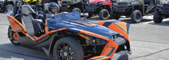 We drove a crazy vehicle at HK Powersports