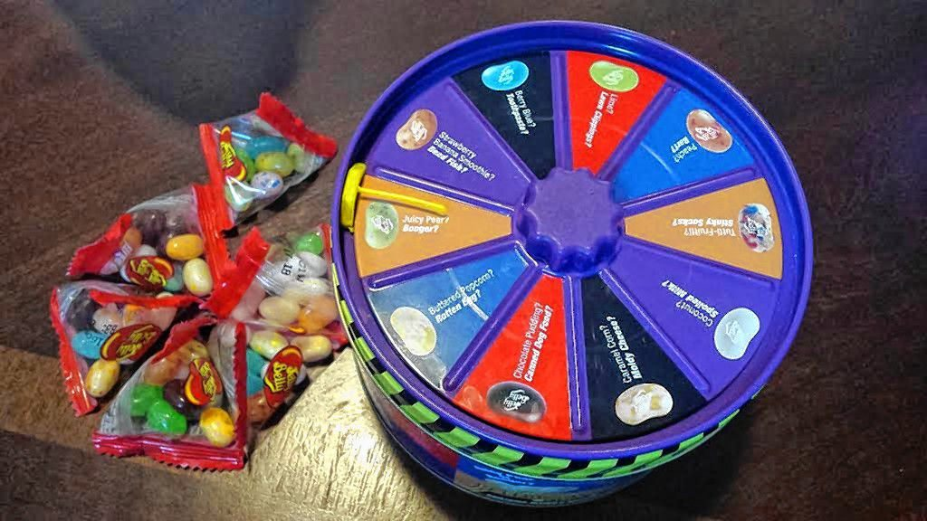 How lucky are you feeling? Take a spin of the wheel and find out what flavor you get to try.