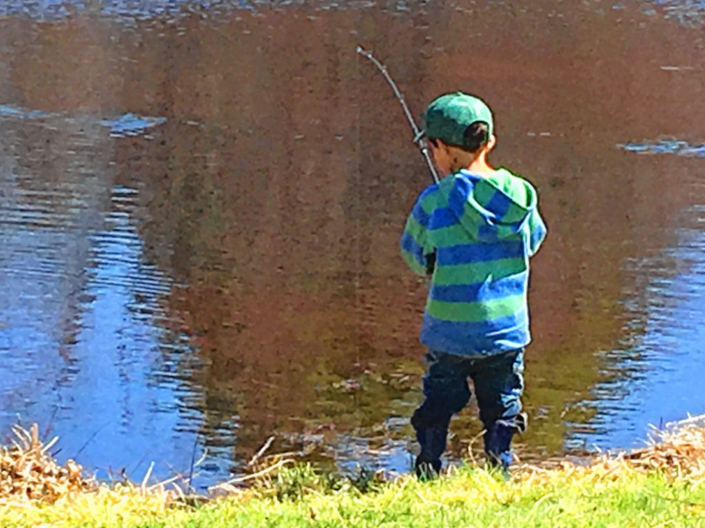 Youth Fishing Day is sure to be a blast for the little ones. (Courtesy of Basil Woods Trout Unlimited)