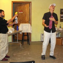 Two friends to perform 'Gutenberg! The Musical!' at Hatbox Theatre