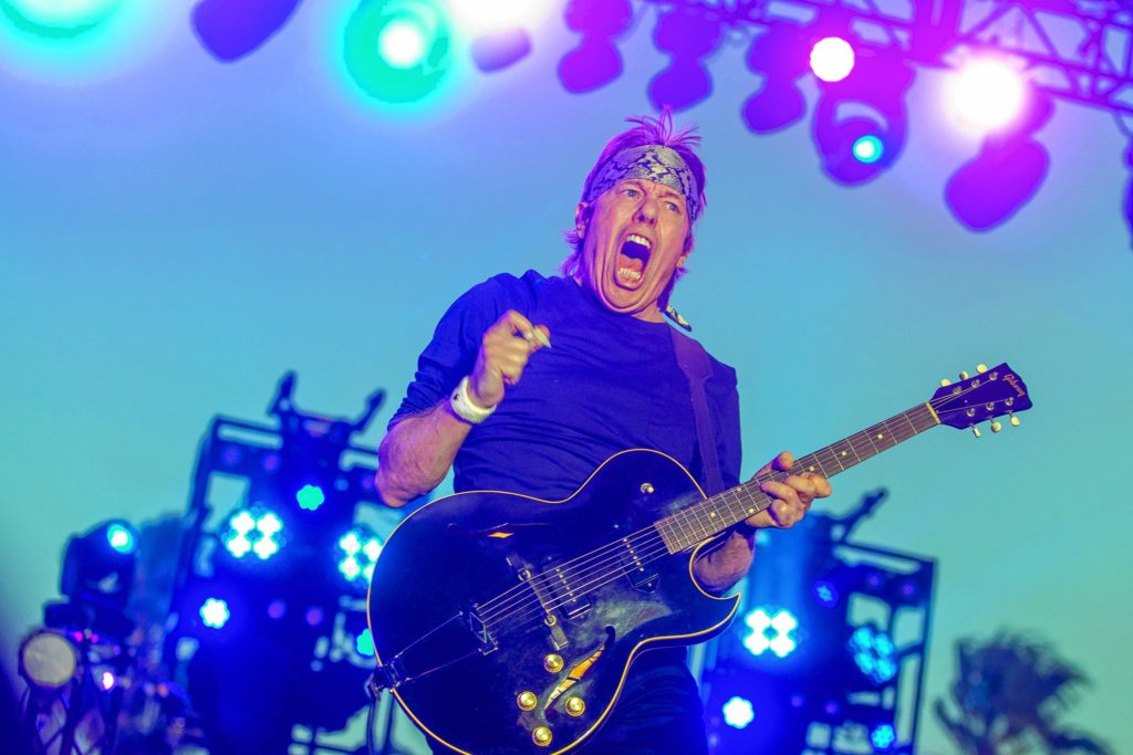 George Thorogood of George Thorogood and the Destroyers performs during the final day of the 2015 Stagecoach Festival at the EmpireClub on Sunday, April 26, 2015, in Indio, Calif. (Photo by Paul A. Hebert/Invision/AP) Paul A. Hebert