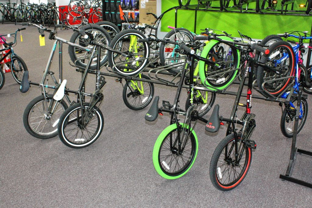 Whether you're looking for a mountain bike, a road bike, a hybrid, E-bike, BMX, fatbike or anything in between, you're bound to find something that works for you at Goodale's Bike Shop. JON BODELL / Insider staff