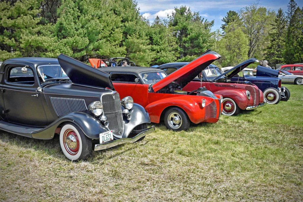 You'll see all kinds of great classic cars at the 7th annual Bow Rotary CLub car show on Saturday. Eric Anderson