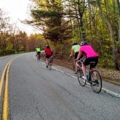 There are plenty of events and rides you can join with S&W Sports and the Central New Hampshire Bicycling Coalition