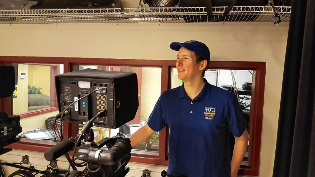 Josh Hardy was recently named station manager at ConcordTV. COURTESY