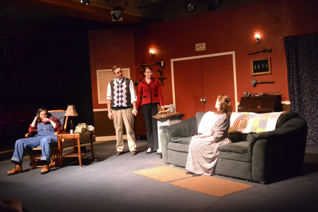 'I'll Be Back Before Midnight' is currently showing at Hatbox Theatre through July 10. Tim Goodwin