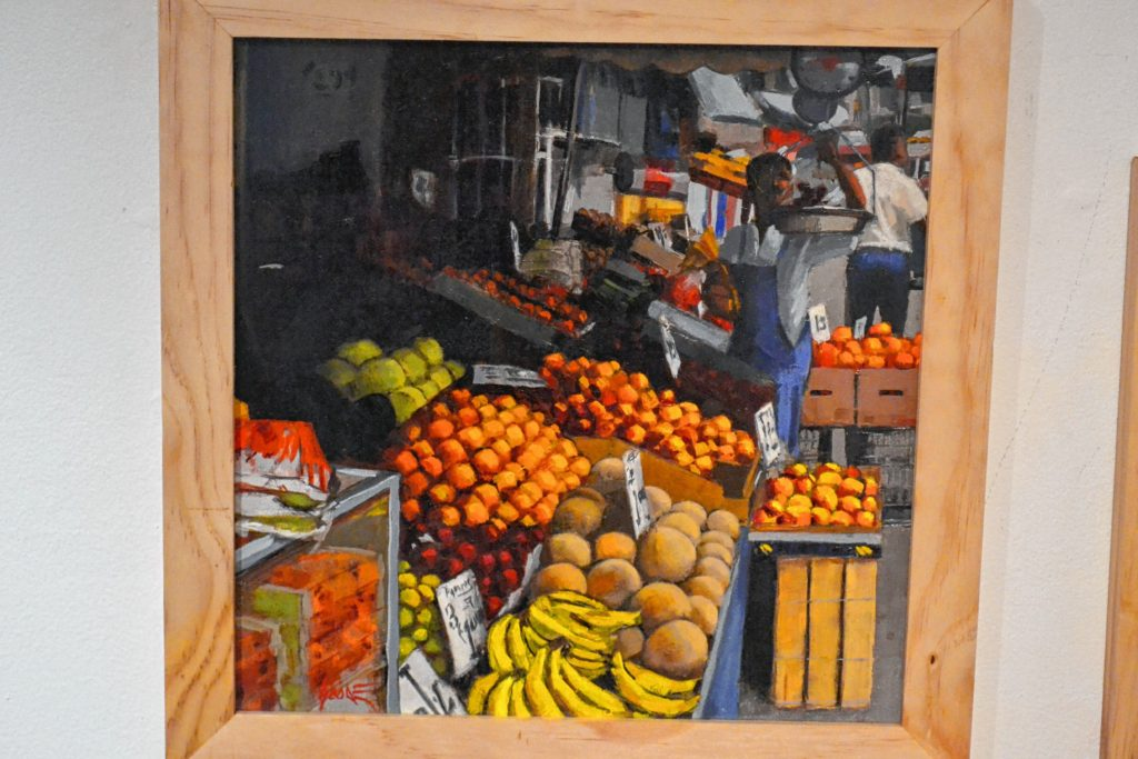 Fruit Stand #2, Roger Goode. Tim Goodwin