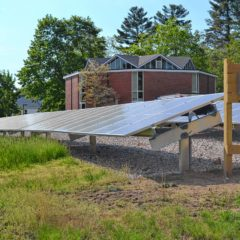 Unitarian Church is producing solar power