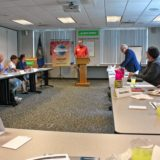 We honed our public speaking skills at Horseshoe Pond Toastmasters Club