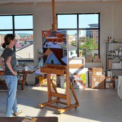 Visit a working studio, listen to an artist speak