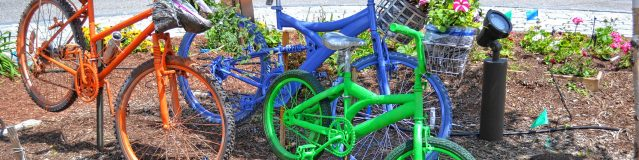 We found this new addition to the Big Bicycle Project in the middle of the rotary in downtown Penacook.Tim Goodwin / Insider staff