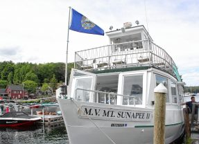 We took a leisurely cruise on Lake Sunapee aboard the M.V. MT. Sunapee II