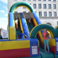 Bring the little ones to Kids Zone at Market Days