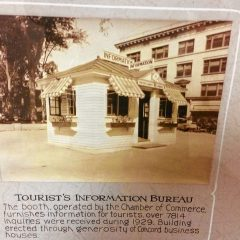 What do you know about the info kiosk at City Plaza?