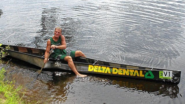 Tom Walton will lead a free paddling clinic on the Merrimack River on May 31, prior to a triathlon he's coordinating for July 20.