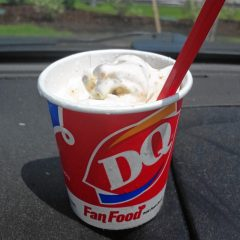 Ice Cream Snob: Trying a Butterfinger Blizzard at the new Dairy Queen