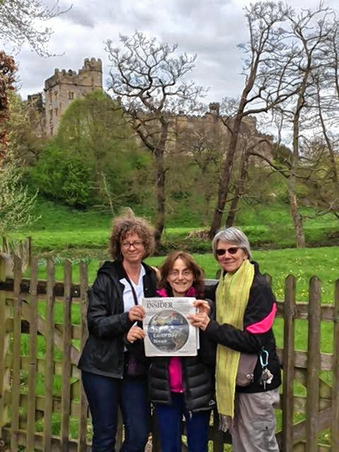 Marci Richardson, Amy Goldstein and Patricia Edwards, an MD at Concord Pediatrics, took us with them on a trip to Wales this spring where we got to see a number of old castles. Courtesy