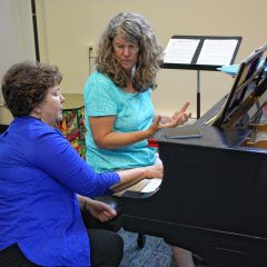 Musicians of Concord: Piano instructor Kathy Southworth has the keys