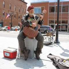 Musicians of Concord: Kevin Clark provides the sounds of the streets
