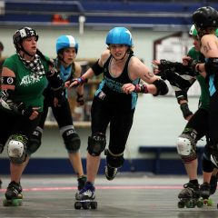 Catch the final Granite State Roller Derby event of the year at Everett Arena