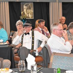 Murder mystery dinner at Havenwood Heritage Heights was a roarin' good time