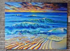 Robin Lamson's artwork is at Dos Amigos