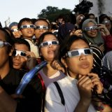 Watch the solar eclipse from the McAuliffe-Shepard Discovery Center