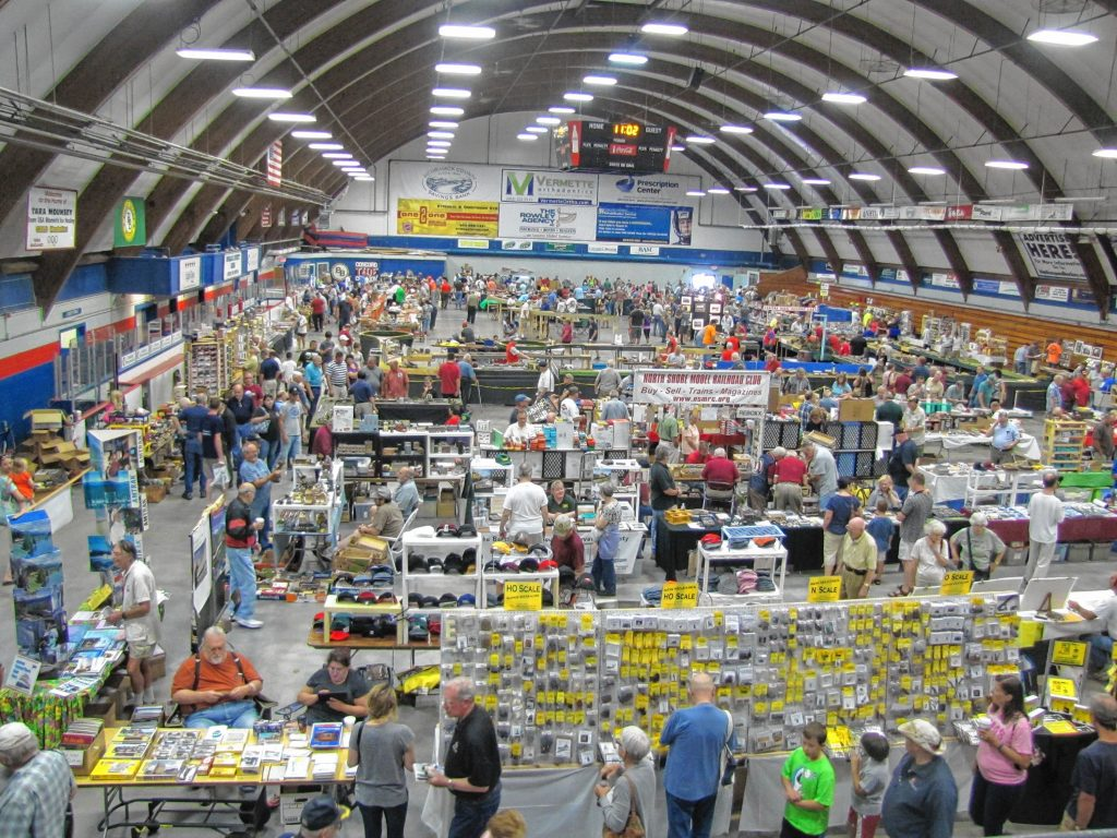 The 2015 Concord Model Railroad Show at Everett Arena was packed with model train sets and enthusiasts, and this year figures to feature much of the same. Show chairman Richard Fifield said he expects about 600 people to show up this Sunday.  Courtesy of Richard Fifield