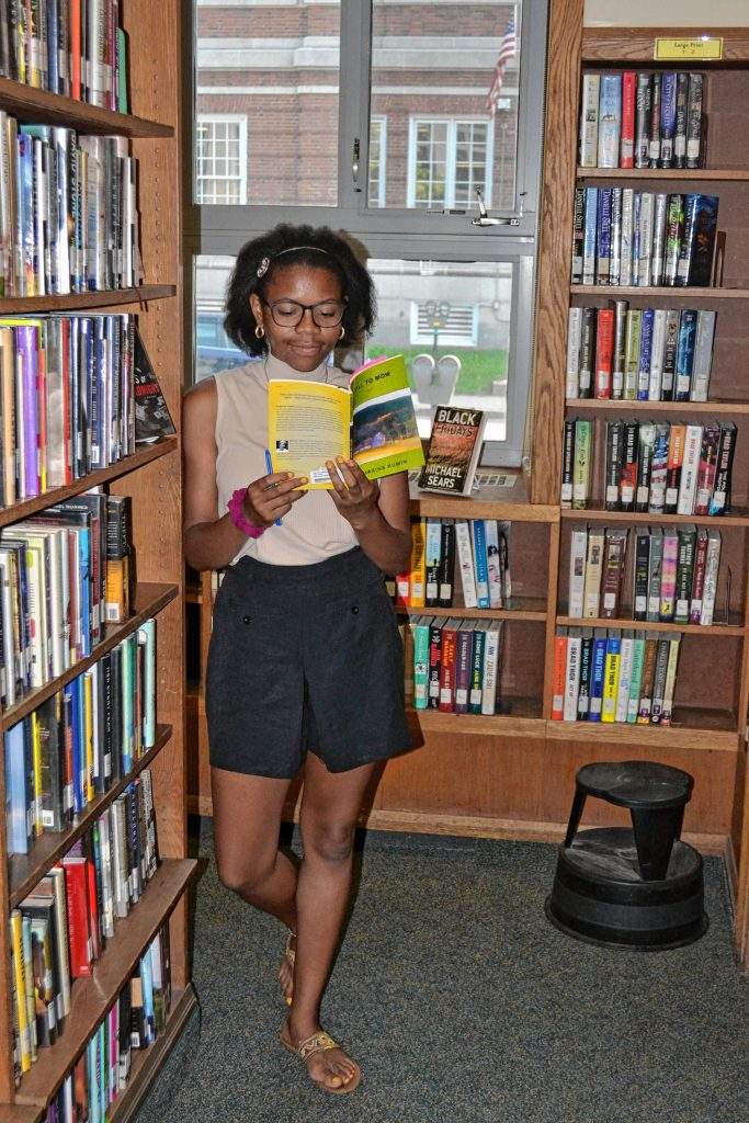 Laila Ruffin, a senior at Concord High School, is the next state Youth Poet Laureate. TIM GOODWIN / Insider staff