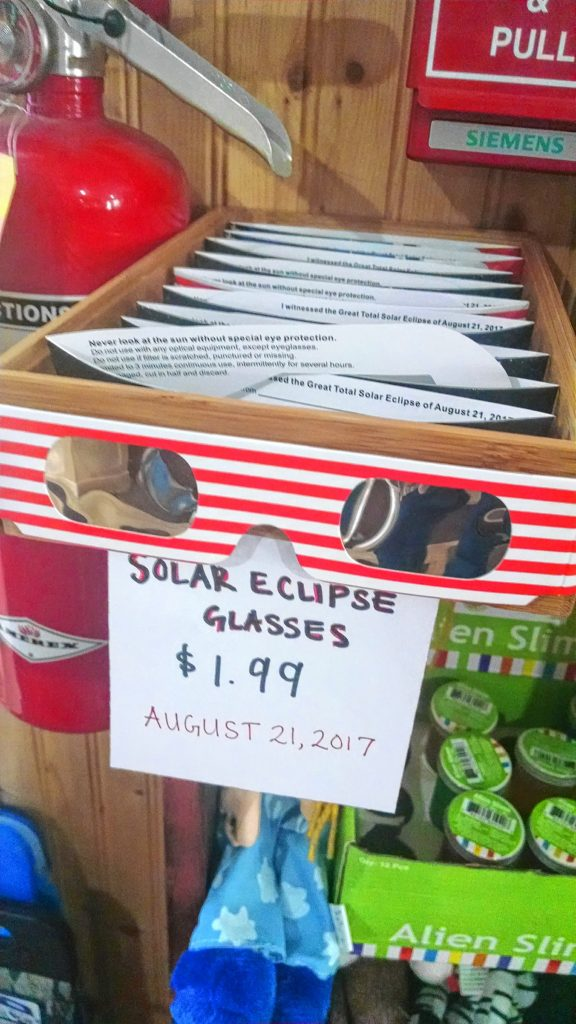 solar eclipse glasses for sale David Brooks