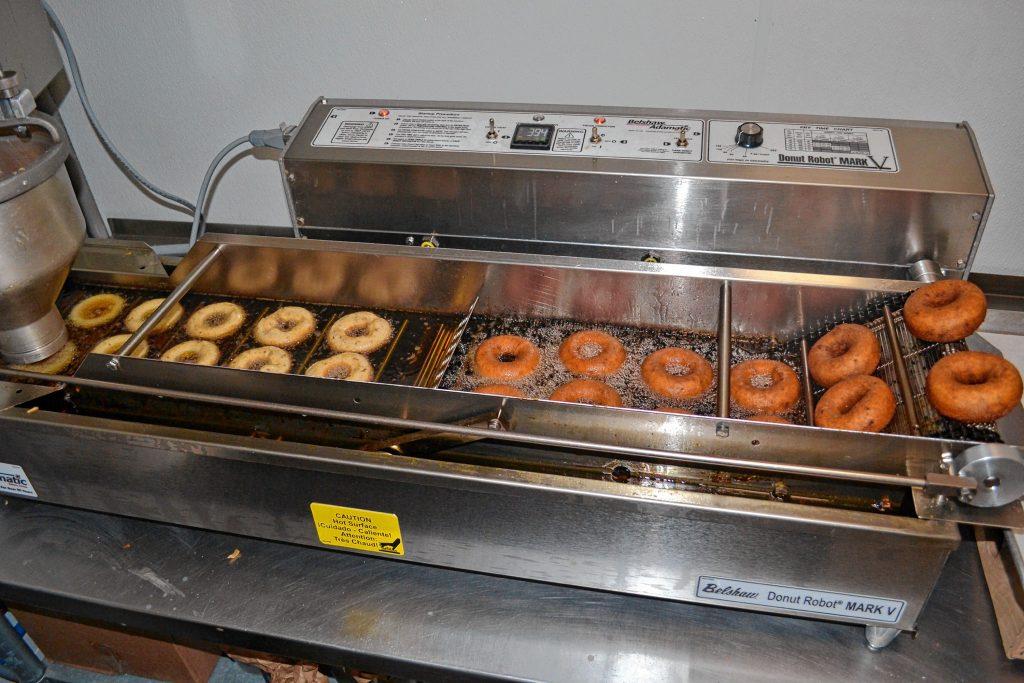 The Mark 5 can make 59 dozen doughnuts in an hour. TIM GOODWIN / Insider staff