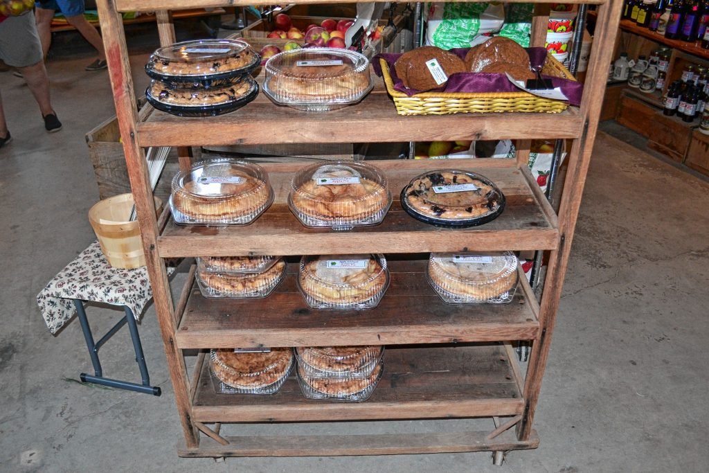 Apple Hill Farm have lots of tasty treats to enhance your apple picking experience. TIM GOODWIN / Insider staff
