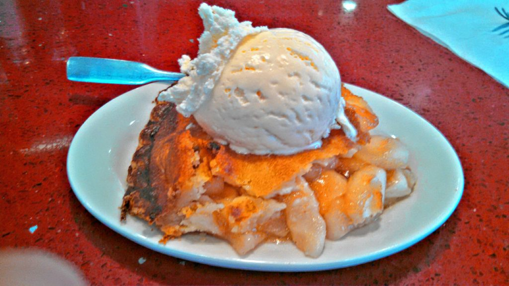 Since this is the Apples Issue, we had to try some apple pie. Since the Red Arrow Diner is known for their pies, among many other things, we stopped by and ordered a slice with a scoop of vanilla ice cream on top, and man was it good. JON BODELL / Insider staff