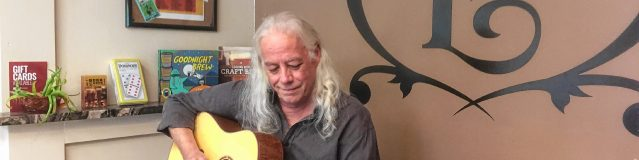 Ed Gerhard visited Lithermans Limited before the concert to help make the beer inspired by his album, Sunnyland, and play a couple tunes on his guitar. Gerhard will play in the Capitol Center for the Arts Spotlight Cafe on Saturday, the same day Litherman's unveils its new brew.Courtesy