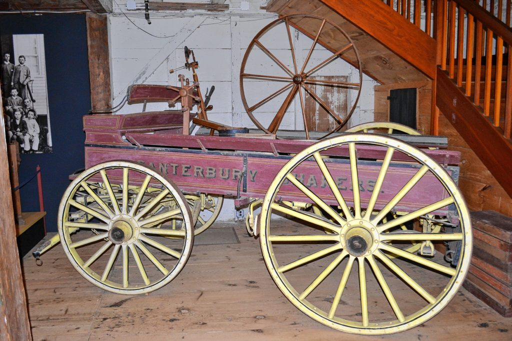 Look at that sweet ride from long ago at Canterbury Shaker Village. Tim Goodwin / Insider staff