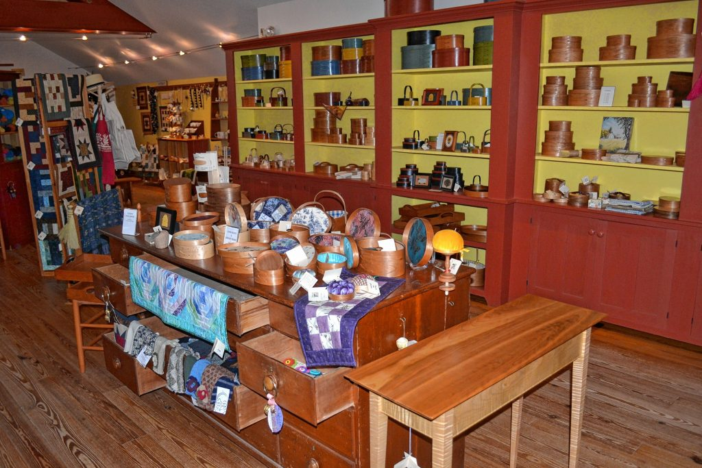 The gift shop at Canterbury Shaker Village has lots to choose from. Tim Goodwin / Insider staff