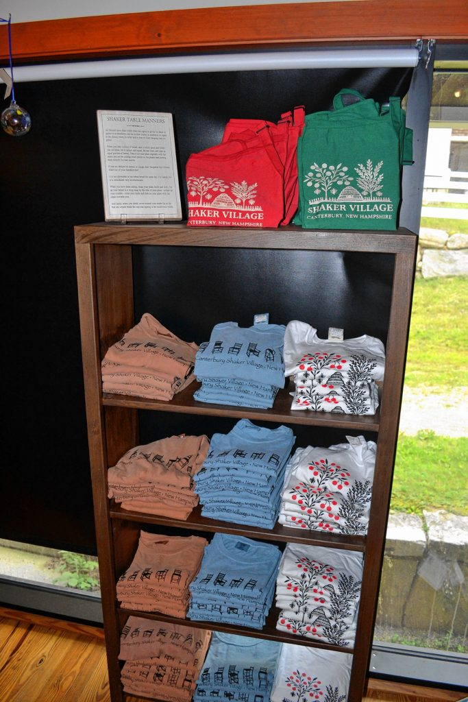 Get your Canterbury Shaker Village swag in the gift shop. Tim Goodwin / Insider staff