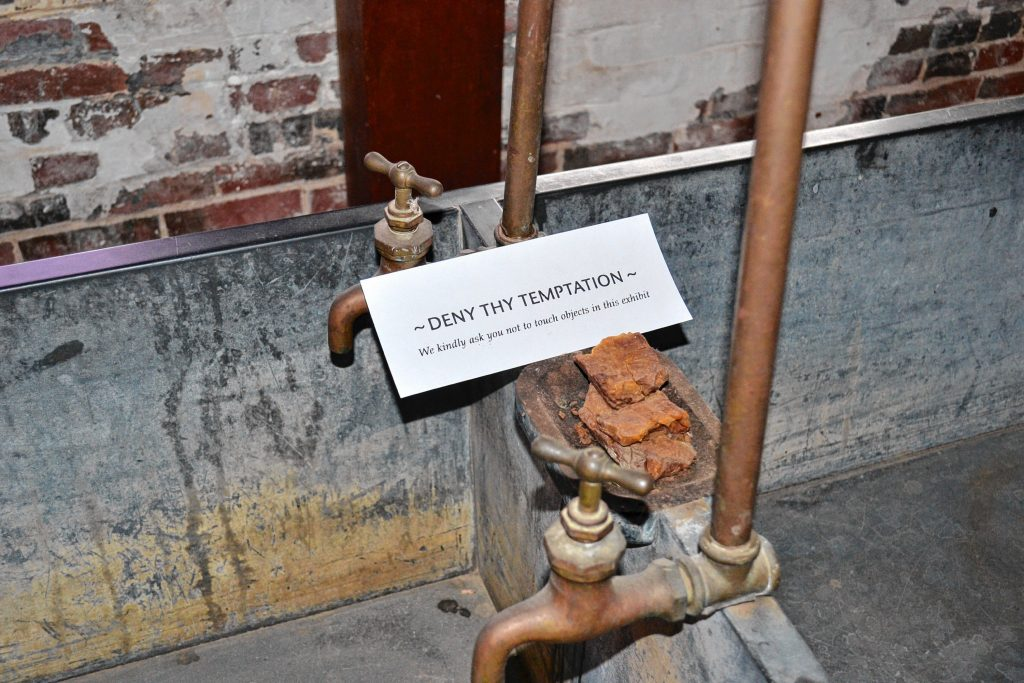 You can look but just don't touch the exhibits at Canterbury Shaker Village. Tim Goodwin / Insider staff