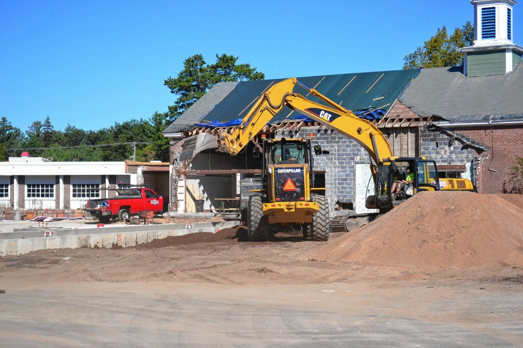Site work is ongoing at the home of what will surely be a pretty awesome new community center. TIM GOODWIN / Insider staff
