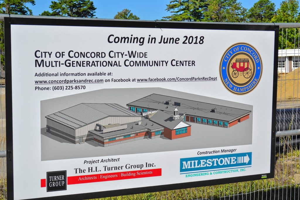 This is what the new community center will look like when it's done, just a little bigger. TIM GOODWIN / Insider staff