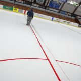 We stopped by Everett Arena to see how they install the ice
