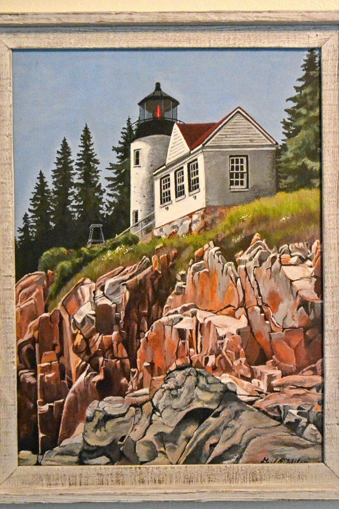Basshead Harbor Light, Gail Wilson.  TIM GOODWIN / Insider staff