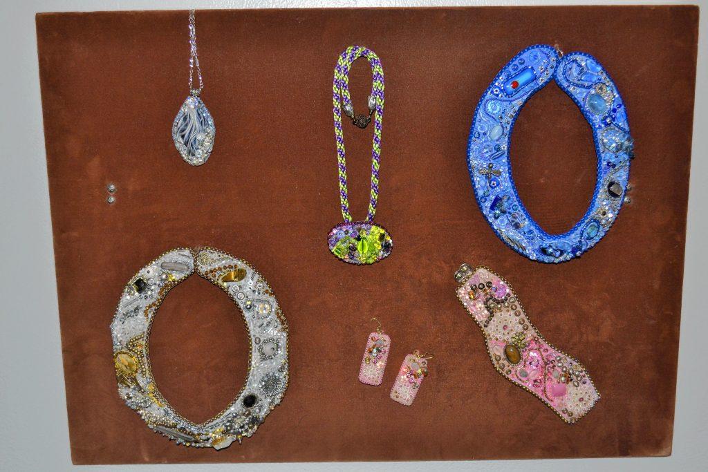 Bead jewelry, Judith Bush. TIM GOODWIN / Insider staff