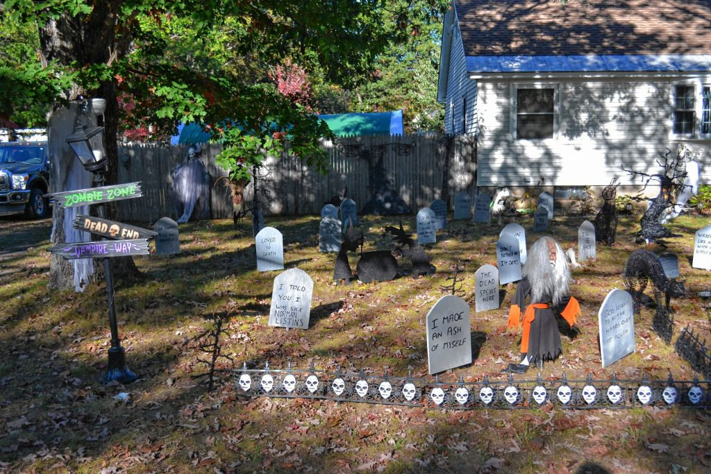 The MacKenzie's on East Side Drive are a destination for Halloween enthusiasts. TIM GOODWIN / Insider staff
