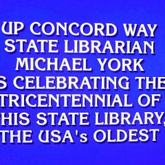 The N.H. State Library was just featured on 'Jeopardy'