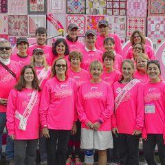 Making Strides: Let's Hear it for the Girls fundraises with creativity, passion