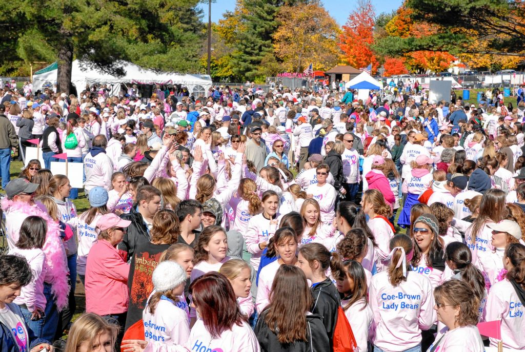 There's a lot going on the day of Making Strides Against Breast Cancer of Concord, but it's worth it to be a part of something so powerful. Courtesy